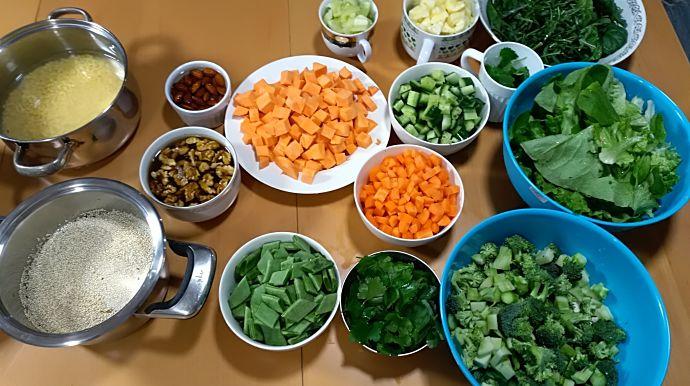 tečaj ayurvedskog kuhanja - namirnice